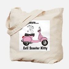 Evil Kitty PINK Tote Bag