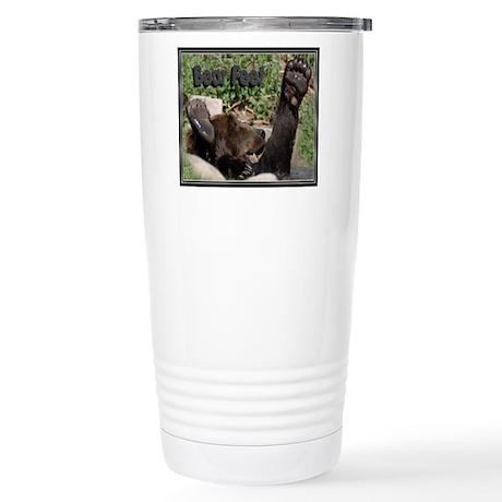 Bear Feet Stainless Steel Travel Mug