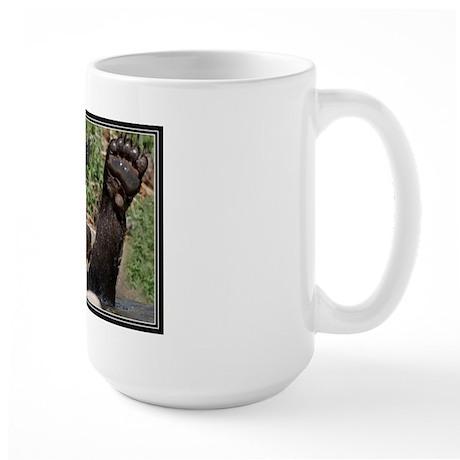 Bear Feet Large Mug
