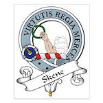 Skene Clan Badge Small Poster