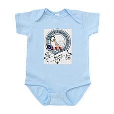 Skene Clan Badge Infant Creeper