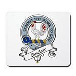 Sinclair Clan Badge Mousepad