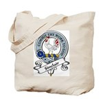 Sinclair Clan Badge Tote Bag