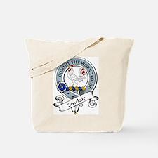 Sinclair Clan Badge Tote Bag