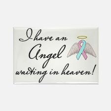 Angel Waiting Rectangle Magnet