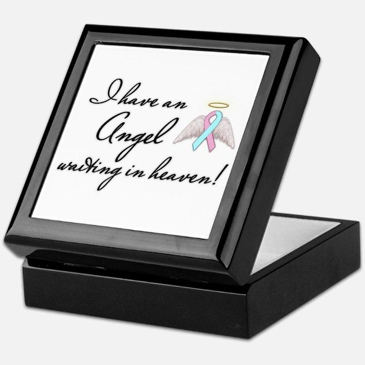 Angel Waiting Keepsake Box