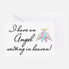Angel Waiting Greeting Card