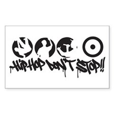 Hip-hop don't stop !! Decal