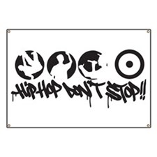 Hip-hop don't stop !! Banner