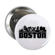 "Boston Skyline 2.25"" Button"