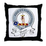 Shaw Clan Badge Throw Pillow