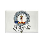 Shaw Clan Badge Rectangle Magnet (10 pack)