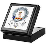 Shaw Clan Badge Keepsake Box