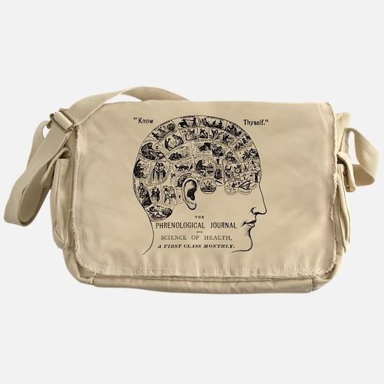 Cute Neuroscience Messenger Bag