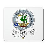 Seton Clan Badge Mousepad