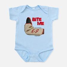 BITE ME Certified K-9 Decoy Infant Bodysuit
