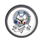 Sempill Clan Badge Wall Clock