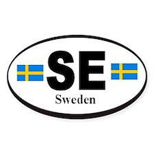 Sweden Swedish Identification Stickers