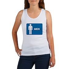 Rest Room Sign Women's Tank Top