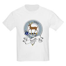 Scott Clan Badge Kids T-Shirt