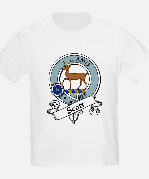 Scott Clan Badge Kids T-Shirt