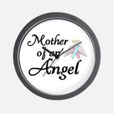 Mother of an Angel Wall Clock