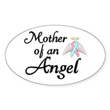 Mother of an Angel Stickers