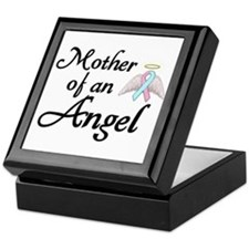 Mother of an Angel Keepsake Box