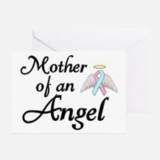 Mother of an Angel Greeting Card