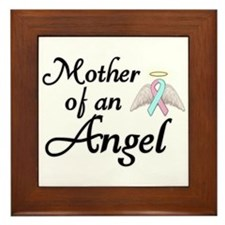 Mother of an Angel Framed Tile