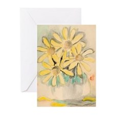 Pot of Daisies Greeting Cards (Pk of 10)