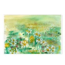 Cheery Daisy Postcards (Package of 8)