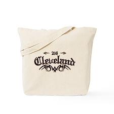 Cleveland 216 Tote Bag