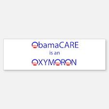 ObamOxymoron Bumper Bumper Sticker
