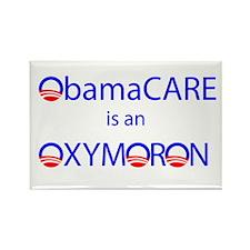 ObamOxymoron Rectangle Magnet
