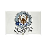 Sandilands Clan Badge Rectangle Magnet (10 pack)