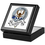 Sandilands Clan Badge Keepsake Box