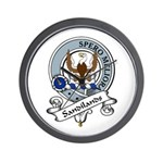 Sandilands Clan Badge Wall Clock