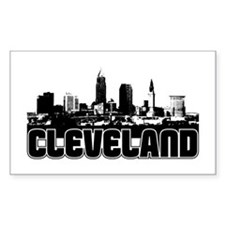Cleveland Skyline Decal