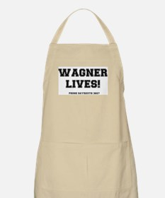 2-WAGNER LIVES Light Apron