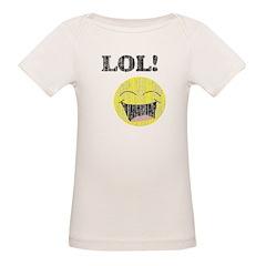 Vintage LOL smiley Organic Baby T-Shirt