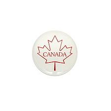 Maple Leaf Mini Button (10 pack)