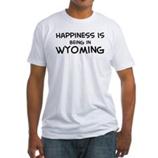 Happiness is Wyoming  Shirt
