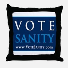 Funny Restore sanity Throw Pillow