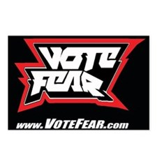 Vote Fear Postcards (Package of 8)