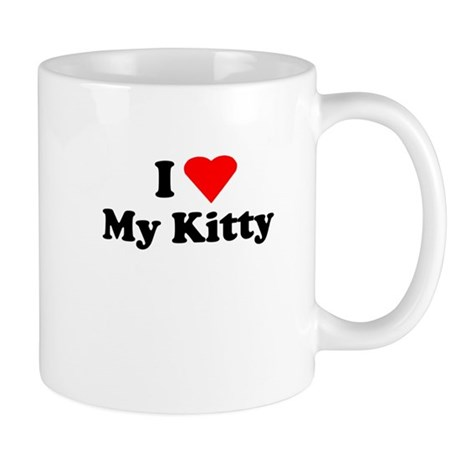 I Love My Kitty Mug