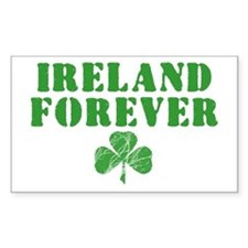 Ireland Forever Rectangle Decal