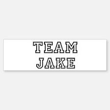 Team Jake Bumper Bumper Bumper Sticker