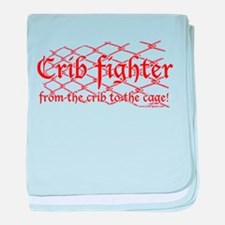 Crib Fighter Cage Infant Blanket