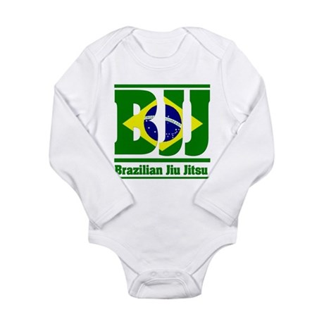 Brazilian Jiu Jitsu Long Sleeve Infant Bodysuit